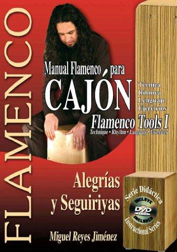 MANUAL FLAMENCO PARA CAJÓN - Flamenco Tools 1 (Libro de Partituras + DVD / Score Book + DVD) (FLAMENCO: Serie Didáctica / Instructional Series)
