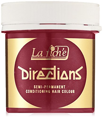La Riche Directions Unisex Semi Permanent Haarfarbe, poppy rot, 1er Pack (1x 89 ml)