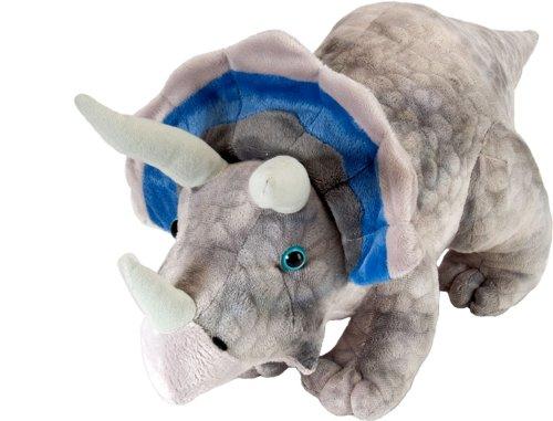 Wild Republic - Peluche Dinosauria Triceratops, 25 cm (15490)