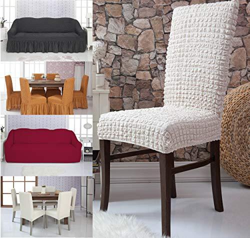 Mixibaby - Funda para sillón (elástica), Nogat, Fiora Zweisitz Sofahusse