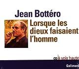 Lorsque les dieux faisaient l'homme CD audio - Gallimard Jeunesse - 23/10/1998