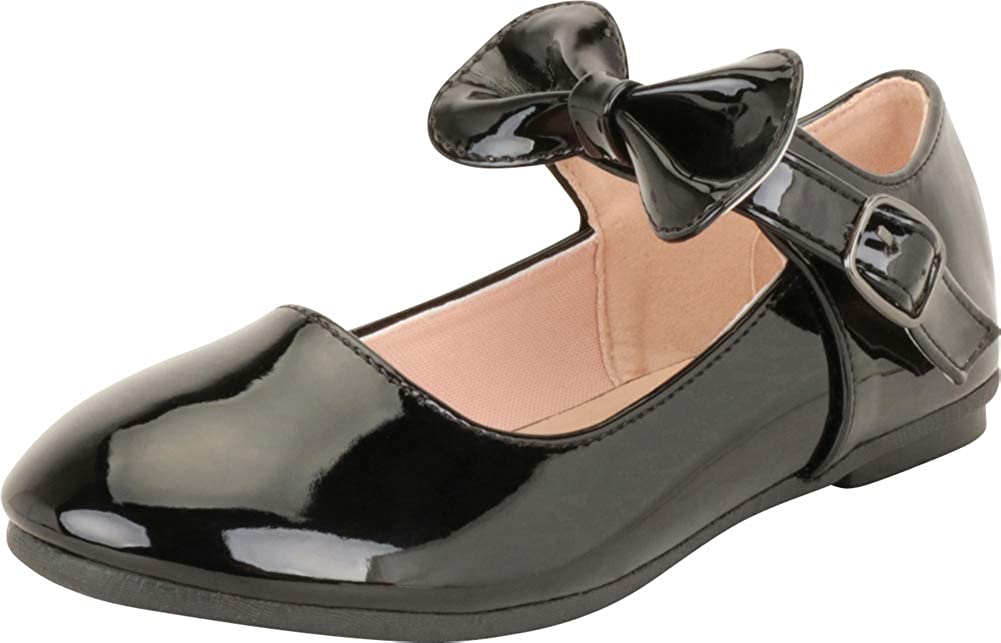 Cambridge Select Girls' Round Toe Bow Max 67% OFF Flat Jane Gorgeous Ballet Tod Mary