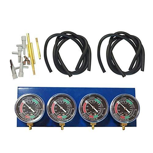 osmanthus 2/4-Zylinder Motorrad Vergaser Synchronisierer, Synchrontestgerät Vergaseruhren Synchronuhren Vakuumprüfer