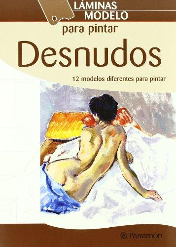 Láminas modelo para pintar desnudos