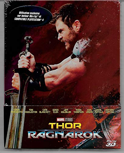 Thor Ragnarok - Marvel - Edition Limitée 2D 3D Steelbook