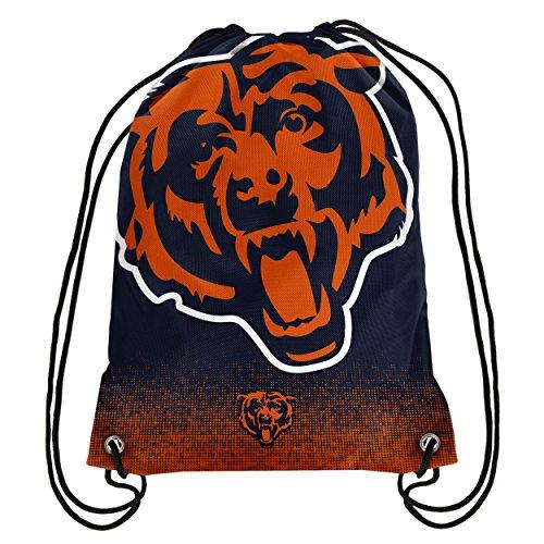 Chicago Bears NFL Gradient Drawstring Backpack