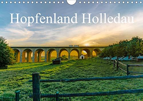 Hopfenland Holledau (Wandkalender 2020 DIN A4 quer): Begeistert von der Landschaft der Hallertau, oder auch Holledau, unternahm ich mehrere Streifzüge ... (Monatskalender, 14 Seiten ) (CALVENDO Orte)