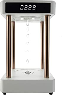 WZHZJ Creative Gift Anti Gravity Floating Levitating Water Drops Time Lamp for Desk Decoration Birthday Home Decor (Color...