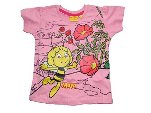 Biene Maja T-Shirt (122 - ca. 7 Jahre, rosa)