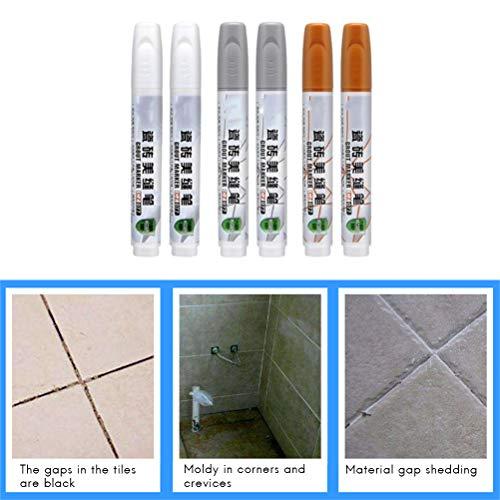 Hihey Tile Repair Refill Pen Mortel Refresher voor Tegel Badreiniger
