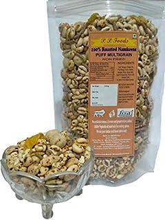 P P FOODS ROASTED Puff Multigrain/ Multigrain Mix/ Roasted Snacks 600 gm (Pack of 3, 200gm Each)