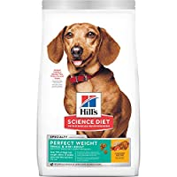 Specialised dry food for adult small breed dogs For dogs which are overweight or prone to obesity, also suitable for older or sterilised dogs Low fat, high fibre: 16% chicken, low fat and low in calories Clinically tested recipe: Proven to help your ...