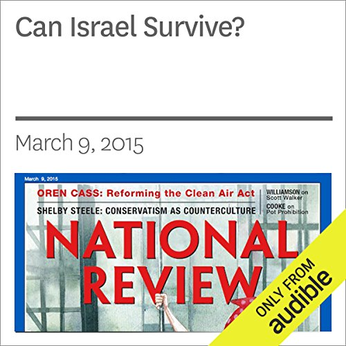 Can Israel Survive? audiobook cover art