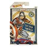 Hot Wheels Marvel Captain America Rogue Hog Die Cast 1:64