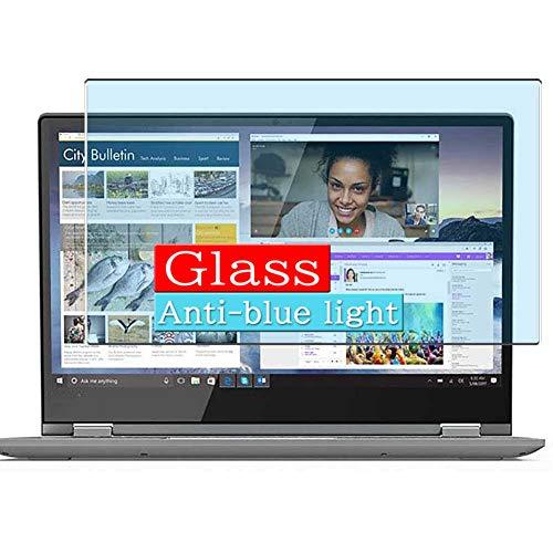 VacFun Filtro Luz Azul Vidrio Templado Protector de Pantalla, compatible con Lenovo Yoga Flex 3 14' Visible Area Cristal Screen Protector(cobertura no completa)