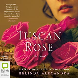 Tuscan Rose audiobook cover art