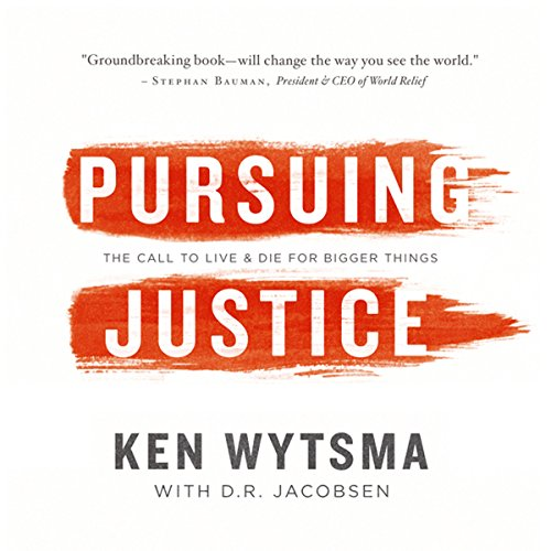 Pursuing Justice audiobook cover art