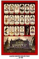 RareポスターThickティルダ・スウィントンThe Grand Budapest Hotelレイフ・ファインズ2014ムービー再印刷# ' d / 10012x 18
