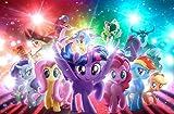 Poster World Póster de papel con acabado mate de My Little Pony The MovieMatte (30,5 x 45,7 cm), multicolor