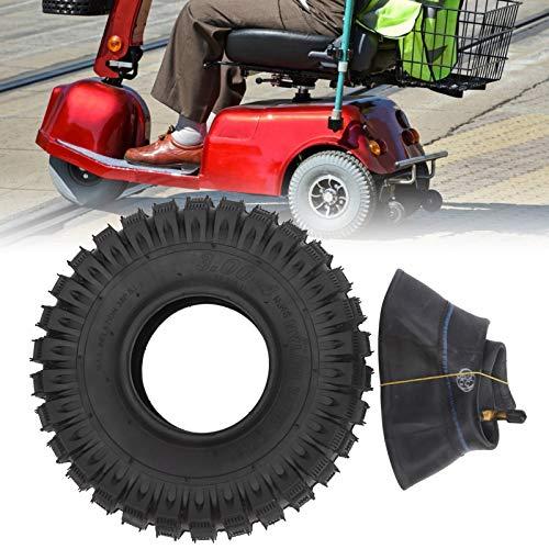 Haowecib 3.00-4 Neumático, neumático de Scooter Duradero para electromóvil para Scooter