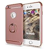 NALIA Coque avec Bague Compatible avec iPhone 6 6S, Housse Protection Case Mince avec...