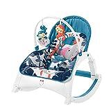 Silla Mecedora para Bebés, Multi-Función De La Silla Mecedora Portátil Puede Sentarse Y Acostarse Adecuado para La Familia Y Los Viajes Al Aire Libre