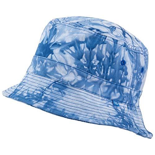 HIGHLANDER Premium Cotton Sun Chapeau Homme, Bleu, XL