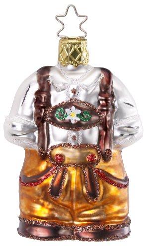 Inge-Glas Bavaria German Gear 1-046-12 German Blown Glass Christmas Ornament