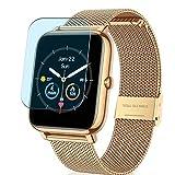 Vaxson 3 Stück Anti Blaulicht Schutzfolie, kompatibel mit CanMixs B85 Smartwatch Smart watch, Displayschutzfolie Anti Blue Light [nicht Panzerglas]