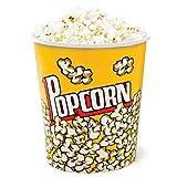 Pappeimer für Popcorn, groß, 2 Stück