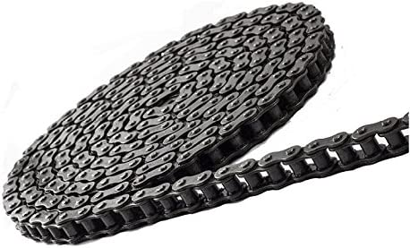 Jeremywell 41 Roller Chain 10 Feet with 1 Connecting Link