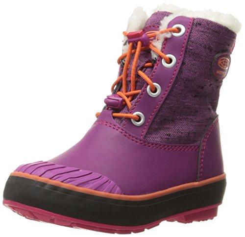 Keen KEEN Kids/Youth ELSA Boot WP - Winterstiefel, Farbe:Purple Wine/tigerlilly Schuhgröße_Kinder:37 (US 5)
