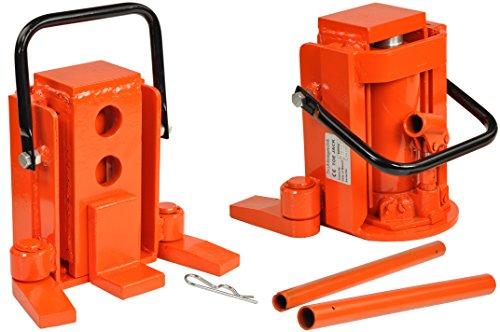 Pro-Lift-Montagetechnik 8t Maschinenheber, schwenkbare Füße, Hydraulikzylinder, 00001