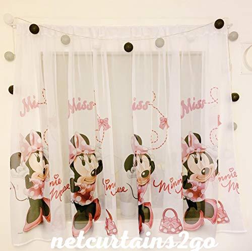 P Gardinen Minnie Maus Teil 150B x 150L Kinderzimmer Vorhang Disney