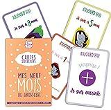 Mes 9 Mois de Grossesse - 15 cartes souvenirs/cartes étapes pour se souvenir des mois magiques de sa grossesse