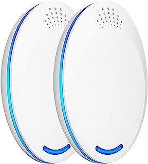 Goolsky 2Pcs Ultrasonic Pest Repeller Plug Electric Pest Control - Professional Safe Home Mosquitos Repellent - For Fleas,...
