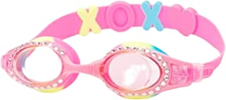 YUENREE Girls Swimming Goggles for Kids - Bling Swim Goggles for Girls Ages 3-14