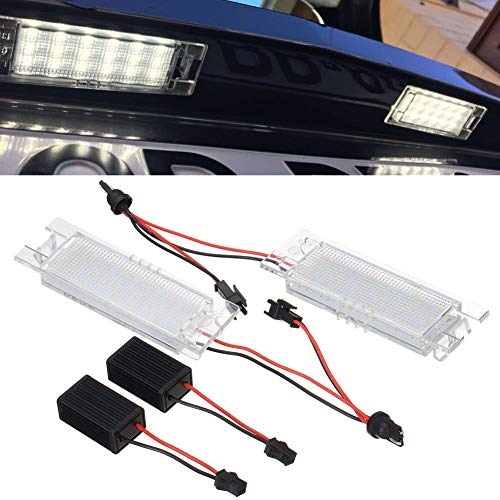 AKDSteel Car Lights for 147 156 159 166 Giulietta Mito GT Spider MiTo Led License Lights for Automotive Parts Accessories