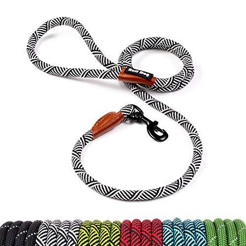 Ruff Dog - 5 FT Rope Leash (White)