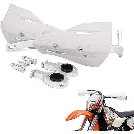 Motocross MX ATV Dirt Bike Hand Guards Handguards w//Mount Kit For Honda Kawasaki