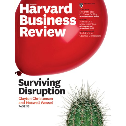 Harvard Business Review, December 2012 cover art