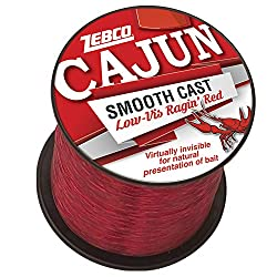 in budget affordable Zebco Cajun Low VIS QTR # Coil 12 lbs-Red 1150 yards (CLLOWVISQ12C.SW6)