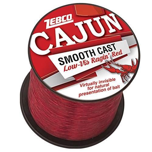 CAJUN LOW VIS QTR # SPOOL 30LB -RED