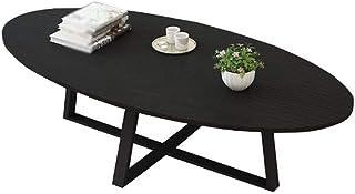 コーヒーテーブル サイドテーブル テーブルソリッドウッドリビングルームコーヒーテーブルモダンなシンプルな多機能サイドテーブル/オフィスコンピューターデスク、6色オプションA ++、ブラック