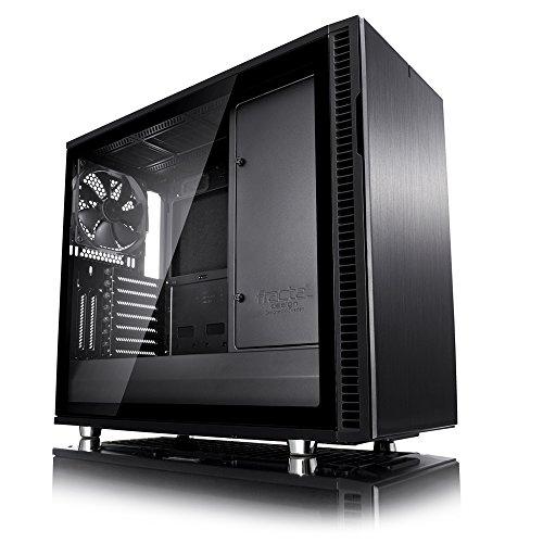 Fractal Design Define R6 TG Blackout USB3.1 Gen2 USB-C ミドルタワー型PCケース CS7407 FD-CA-DEF-R6C-BKO-TGL