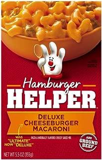 Betty Crocker Hamburger Helper Deluxe Cheeseburger Macaroni 5.5 oz Box (pack of 6)