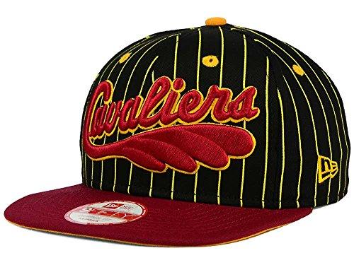 New Era Cleveland Cavaliers da Uomo Hardwood Classic HWC Vintage a Righe Snapback Cappello