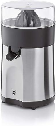 WMF 福腾堡 STELIO柑橘榨汁机 (85W 电动 带2个圆锥刀片 果汁直接流入玻璃杯) Cromargan制材 哑光/银
