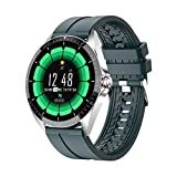 ZGLXZ GW16T Smartwatch Sport Rate Toate Sleep Monitor Smart Watch Men and Women IP67 Impermeable para iOS Android,B