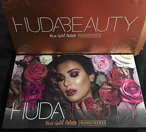 HUDA Beauty - Paleta remasterizada de oro rosa